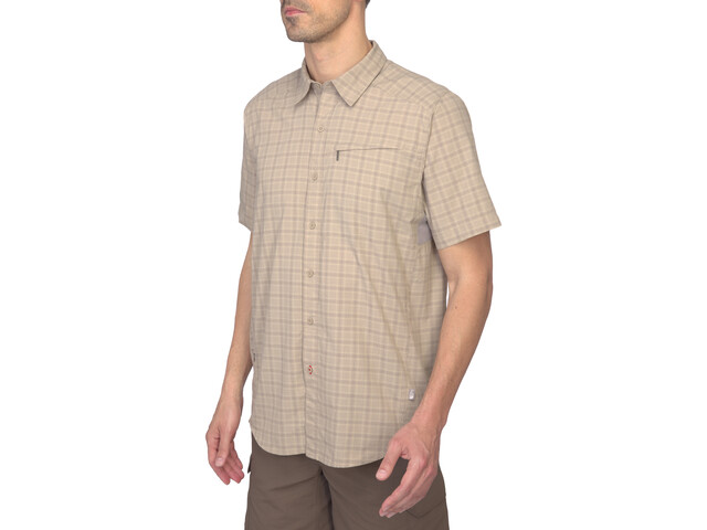 The North Face Ventilation Maillot Hombre, dune beige plaid